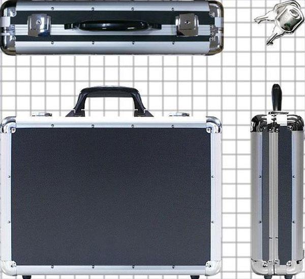 パソコンバッグ シルバー 鞄 かばん わけあり品 特価品 アタッシュケース 内ポケット付 - aimcube画像4