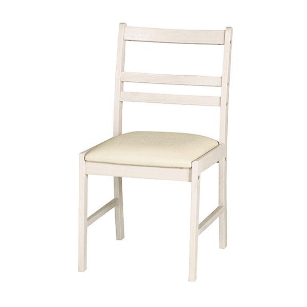 ダイニング 椅子 食卓チェア ホワイト 白 家具 カントリー アンティーク調 - aimcube画像2
