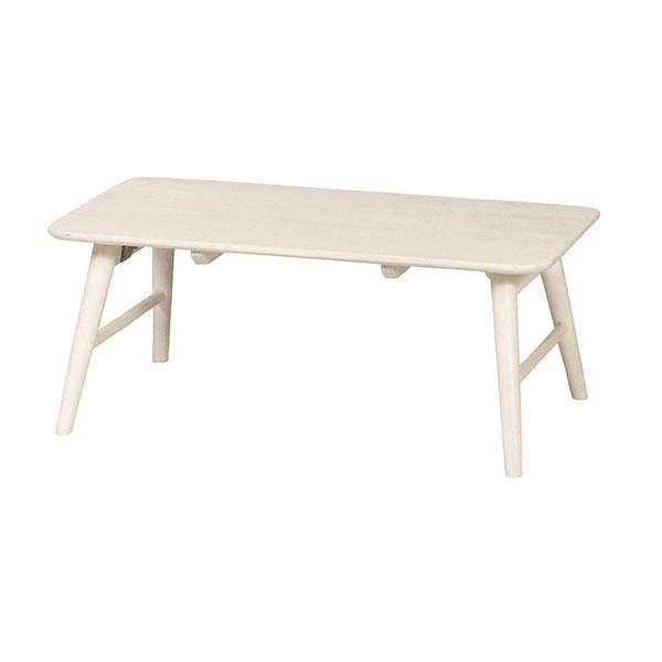 ローテーブル 折畳み センターテーブル 作業テーブル 天然木脚 フォールディングテーブル - aimcube画像2