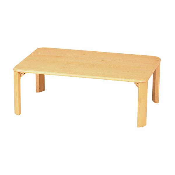 折り畳み脚 テーブル 幅90cm ローテーブル センターテーブル 一人暮らし 子供部屋 - エイムキューブ画像3