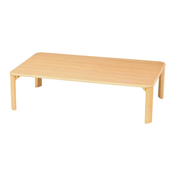 折り畳み脚 テーブル 幅120cm ローテーブル センターテーブル 一人暮らし 子供部屋 - エイムキューブ画像3