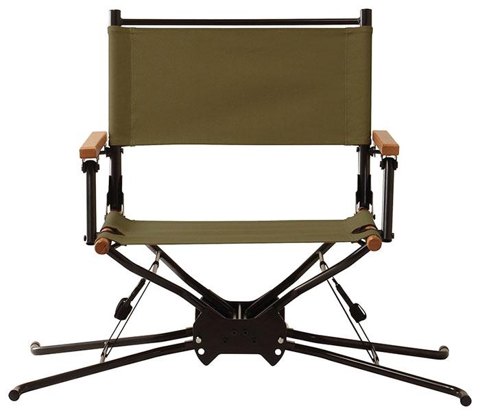 ディレクターズチェア アウトドアチェア 折りたたみチェア 椅子 - エイムキューブ画像3