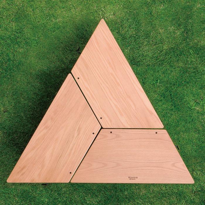 アウトドアテーブル アーチテーブル 折りたたみ 高さ27cm - エイムキューブ画像3