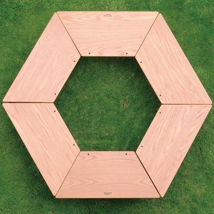 ローテーブル 机 サイドテーブル キャンプ レイアウト自在 - aimcube画像4
