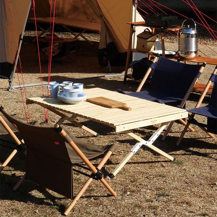 折りたたみ ローテーブル 机 持ち運び 専用ケース付き - aimcube画像2