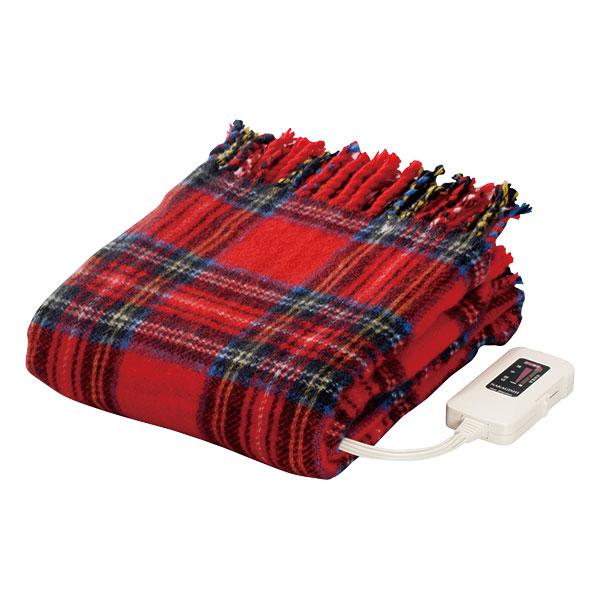 電気ひざ掛け毛布  ホットブランケット  膝掛け リビング用膝かけ 日本製 国産 省エネ ダニ退治 - エイムキューブ画像3