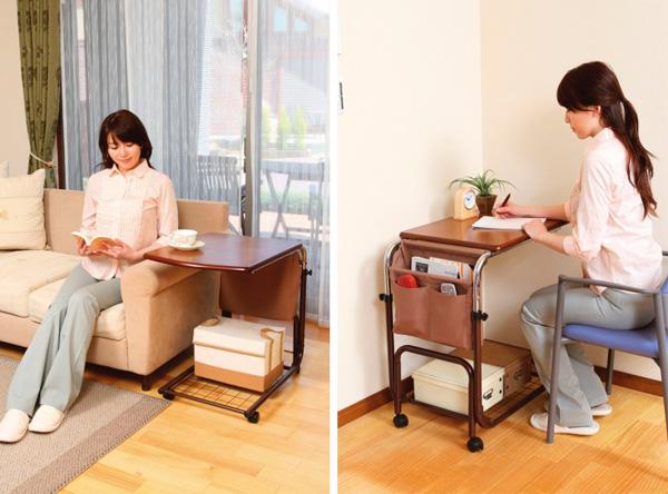 サイドテーブル 補助テーブル 伸縮テーブル - aimcube画像2