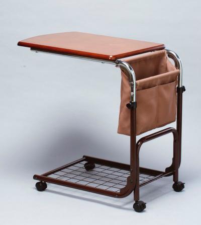 ベッドテーブル 介護テーブル 補助テーブル 簡易デスク - エイムキューブ画像3