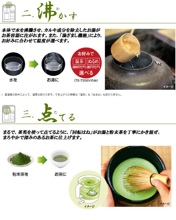 シャープ お茶メーカー ヘルシオお茶プレッソ - エイムキューブ画像4