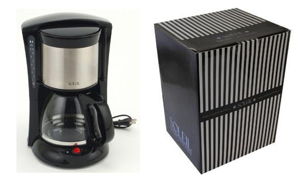 コーヒーメーカー ペーパーフィルター不要 キッチン家電 過熱防止機能付 朝食の準備に最適 コーヒーメーカー - aimcube画像2