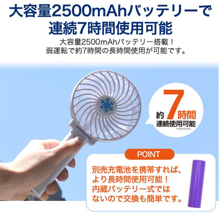 シンプルデザイン ミニファン 卓上 小型 扇風機 USB電源 - aimcube画像4
