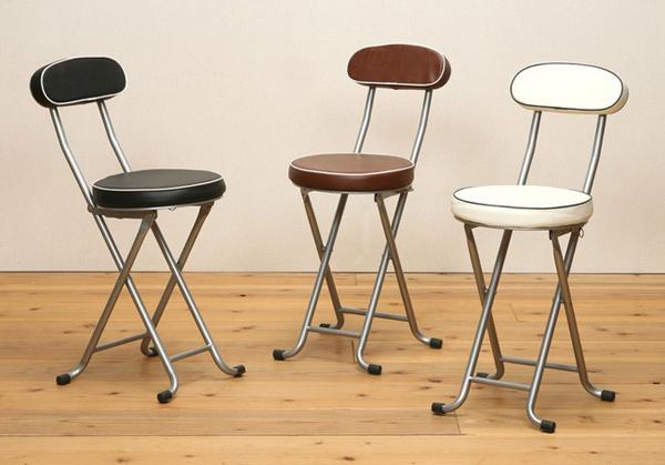 キッチンチェア 椅子 パイプいす 折り畳み椅子 - aimcube画像2