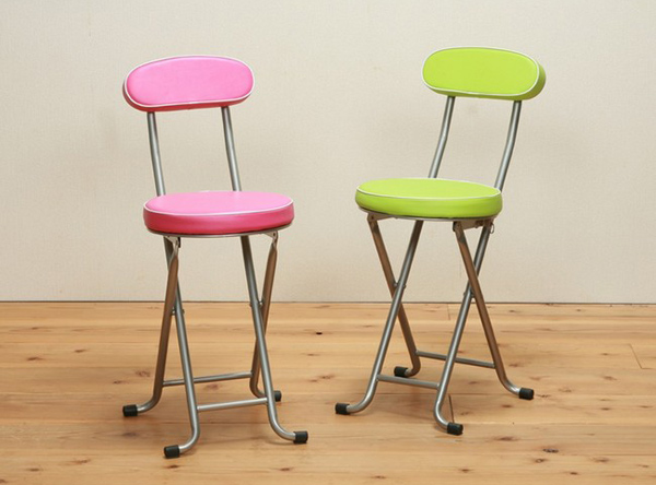 キッチン チェア 椅子 パイプいす 台所いす 折りたたみ椅子- エイムキューブ画像3