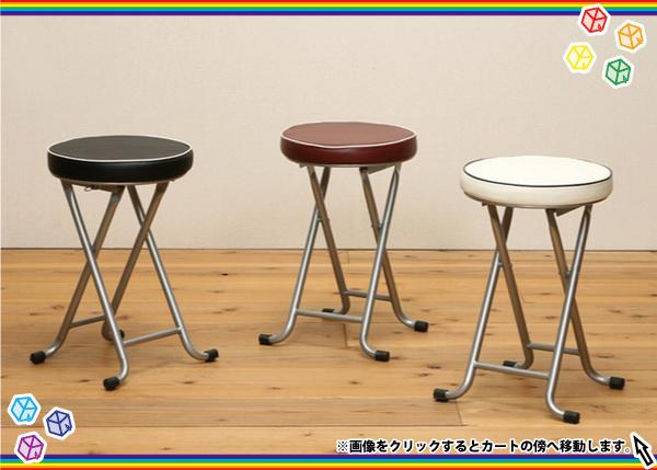 折り畳みスツール 桃色 ピンク 簡易チェア 補助椅子 補助チェア - エイムキューブ画像1
