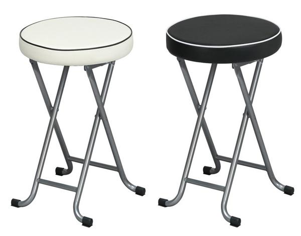 折り畳みスツール 桃色 ピンク 簡易チェア 補助椅子 補助チェア - エイムキューブ画像3