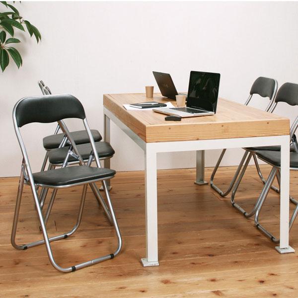 パイプ椅子 パイプイス 折りたたみ椅子 スチールパイプ椅子 - aimcube画像2
