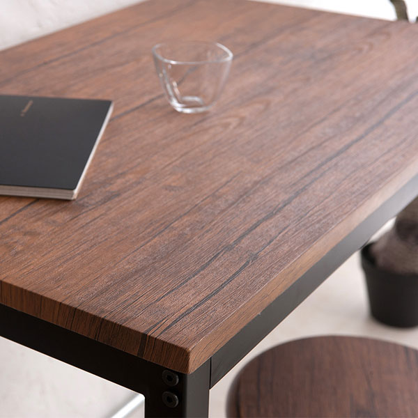 ダイニングテーブル 幅80cm コーヒーテーブル ヴィンテージ 2人用 北欧風 シンプルデザイン - aimcube画像3