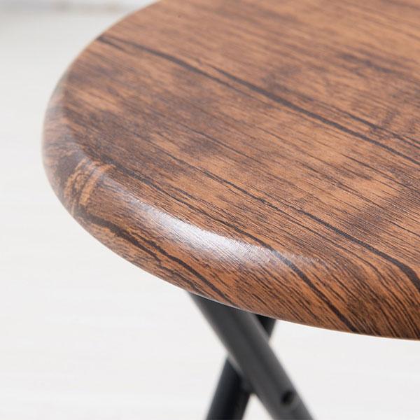 折りたたみ チェア キッチンチェア 補助椅子 ヴィンテージチェア 完成品 台所チェア - エイムキューブ画像3