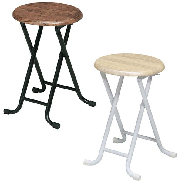 折り畳みイス 北欧風 キッチン用パイプ椅子 脚部キャップ付 折り畳みチェア パイプイス - aimcube画像4
