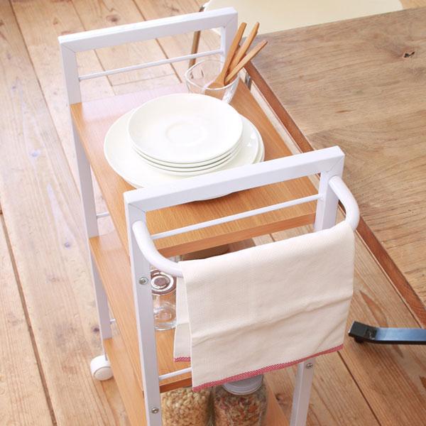 キッチンワゴン ルームワゴン 収納ラック キッチンラック 3段 キッチン 隙間 収納 - エイムキューブ画像3
