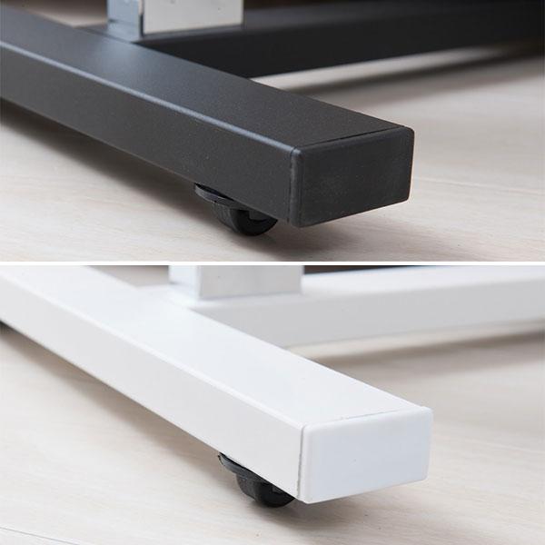 コの字型ベッド用テーブル サイドテーブル 机 キャスター付 簡易デスク 北欧風 - aimcube画像2