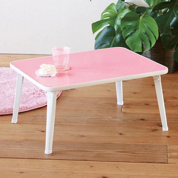 お絵かきテーブル 子供用テーブル 食卓 座卓 折りたたみ脚 鏡面 子ども用テーブル 机 - aimcube画像2
