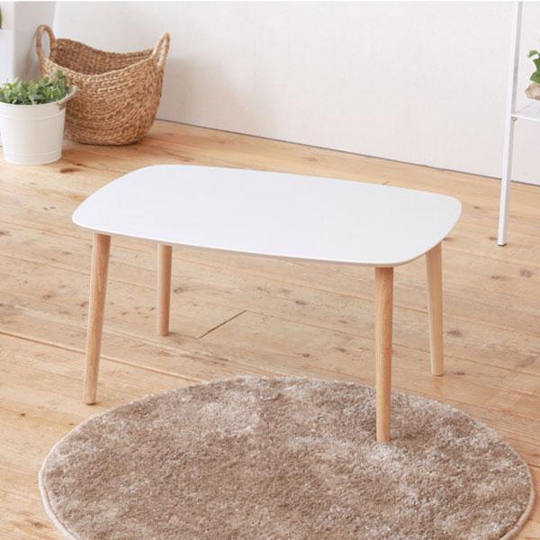 サイドテーブル 幅75cm ソファサイドテーブル 高さ38.5cm 簡易組立品 天板耐荷重 約20kg - aimcube画像3