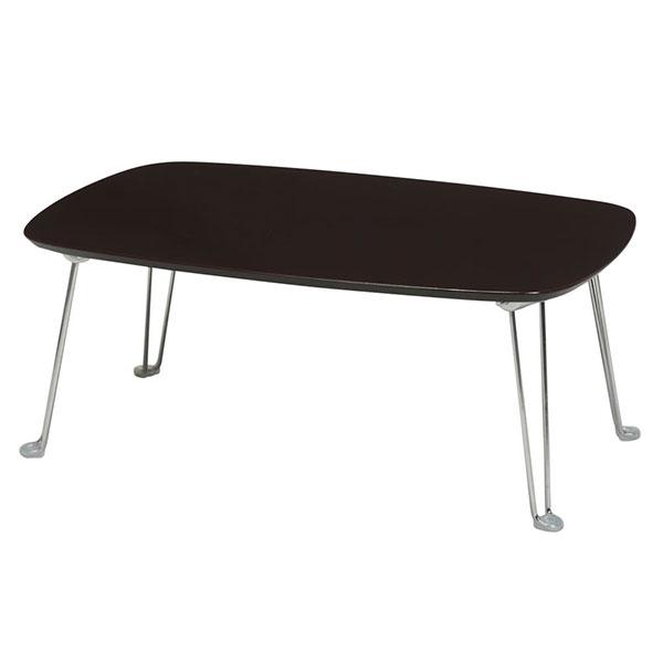 折りたたみテーブル 幅75cm センターテーブル リビングテーブル 完成品 コンパクトテーブル - エイムキューブ画像3