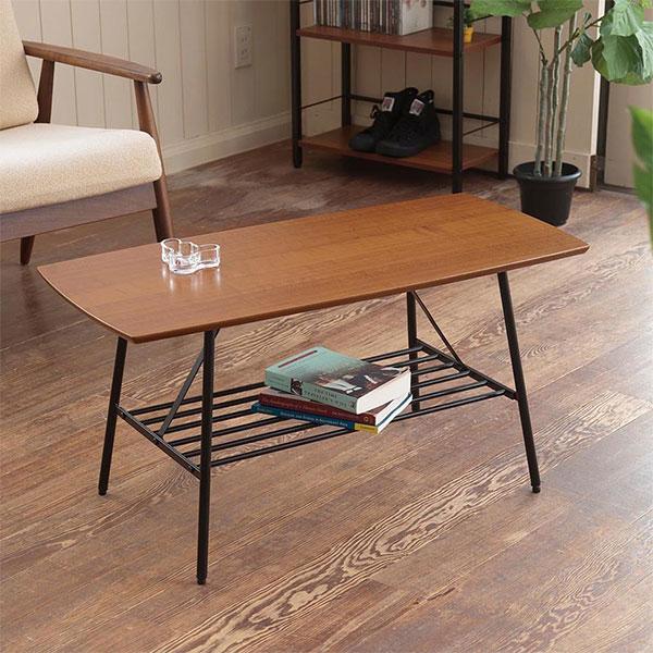カフェテーブル 作業台 簡易テーブル ロータイプ  アジャスター搭載 リモコン置き 小物置き - aimcube画像2