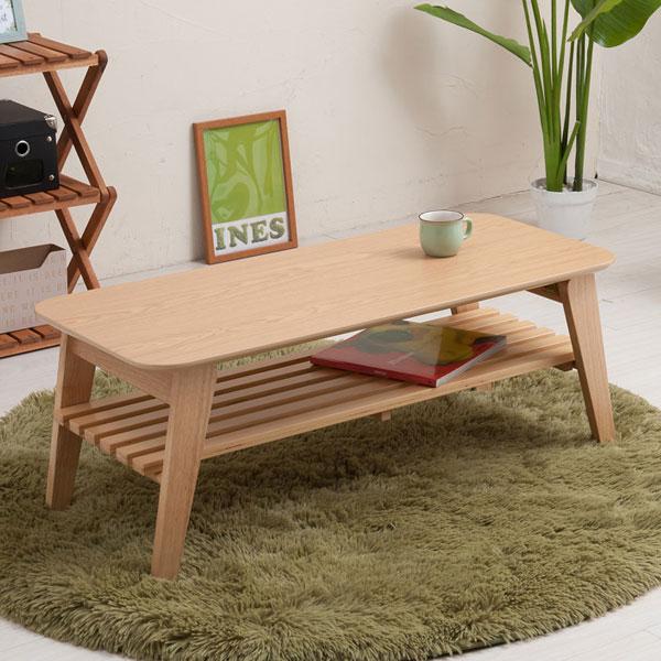 カフェテーブル 簡易テーブル ロータイプ 食卓 棚取り外し可能 収納棚付き テーブル - aimcube画像2