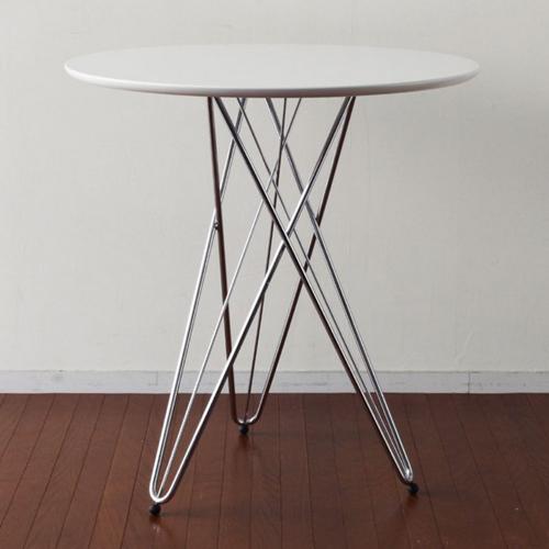 ラウンドテーブル ワイヤーレッグ リビングテーブル サイドテーブル ディスプレイ用 - エイムキューブ画像3