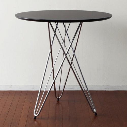 丸型テーブル コーヒーテーブル クロムメッキ仕上げ カフェテーブル センターテーブル - aimcube画像4
