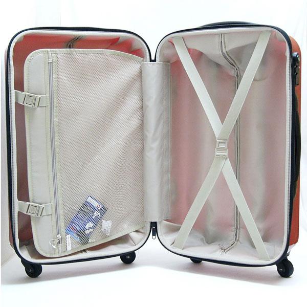 キャリーケース キャリーバッグ 旅行バッグ 出張 鞄 48L Mサイズ キャリー鞄 旅行キャリー - エイムキューブ画像3