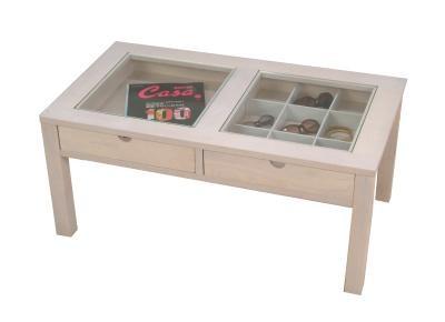 雑誌収納テーブル アクセサリー収納 テーブル - エイムキューブ画像1