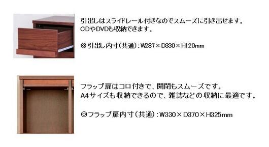 ディスプレイラック 111cm幅 引出収納 6杯 収納ラック - エイムキューブ画像5