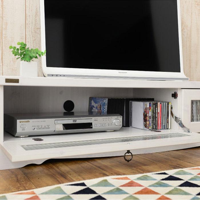 テレビ台 幅120cm テレビボード TV台 コード穴付 収納 AVボード - エイムキューブ画像1