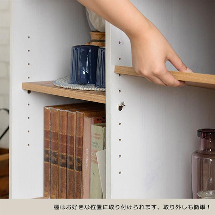 電話台 ファックス台 本 DVD ブルーレイ 収納 可動棚付 - aimcube画像4
