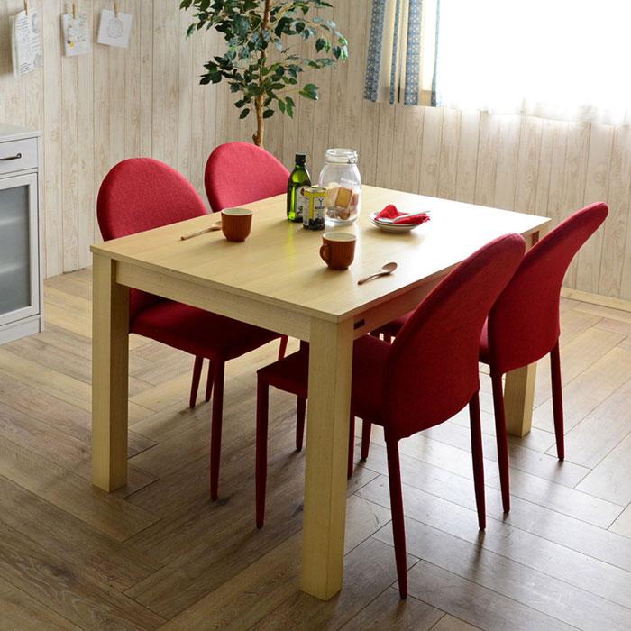 食卓テーブル 幅120cm ダイニングチェア 四人用 5点セット - aimcube画像2