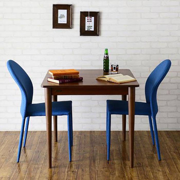 食卓テーブル 幅80cm ダイニングチェア 二人用 3点セット - aimcube画像2