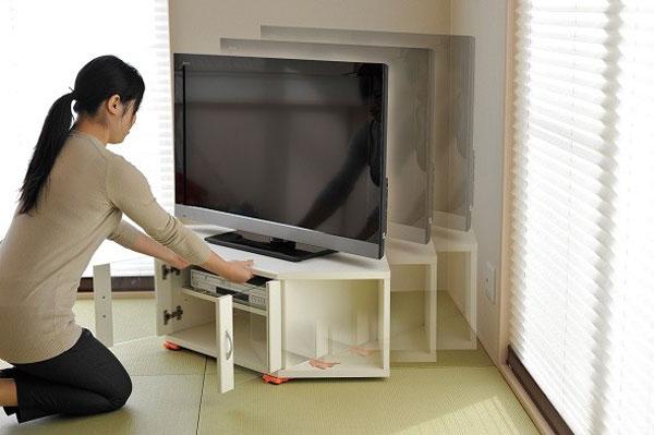 家具移動リフター 模様替え用リフター 引っ越しヘルパー 冷蔵庫 タンス テレビ台 移動 - エイムキューブ画像3