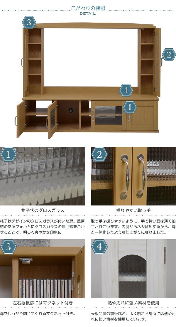 DVD デッキ 収納 CD 収納 背面配線穴有 テレビ上 収納棚 可動棚 テレビ ラック - aimcube画像4
