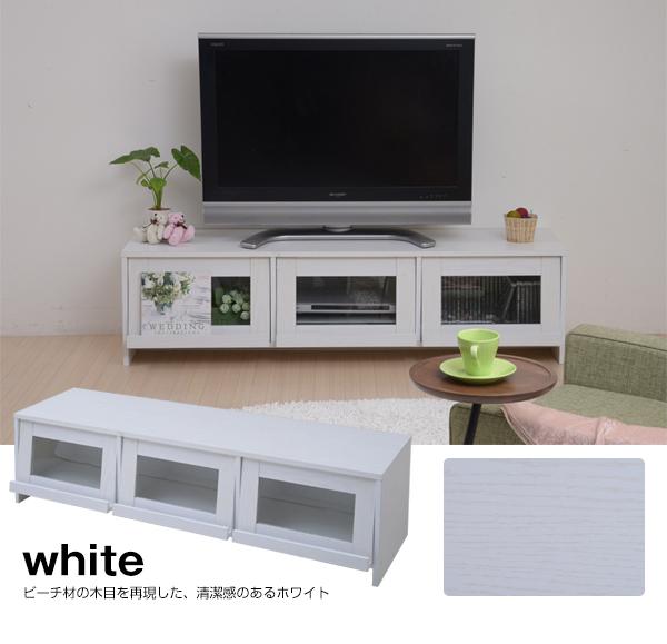 フラップ扉 テレビ台 幅150cm 収納付 テレビラック TV台 ゲーム機 WiiU PS4 収納 - エイムキューブ画像7