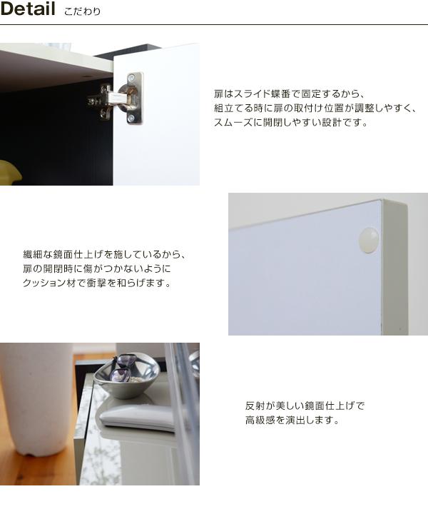 オープンラック リモコン 収納 扉収納付 AVラック DVD 収納 - aimcube画像4