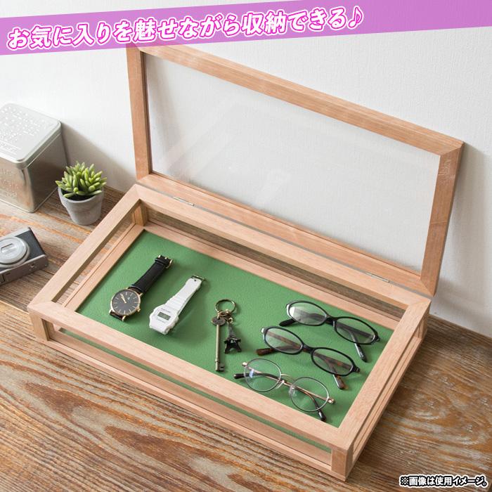 時計ケース ショーケース ディスプレー 卓上ケース 天然木フレーム - aimcube画像2