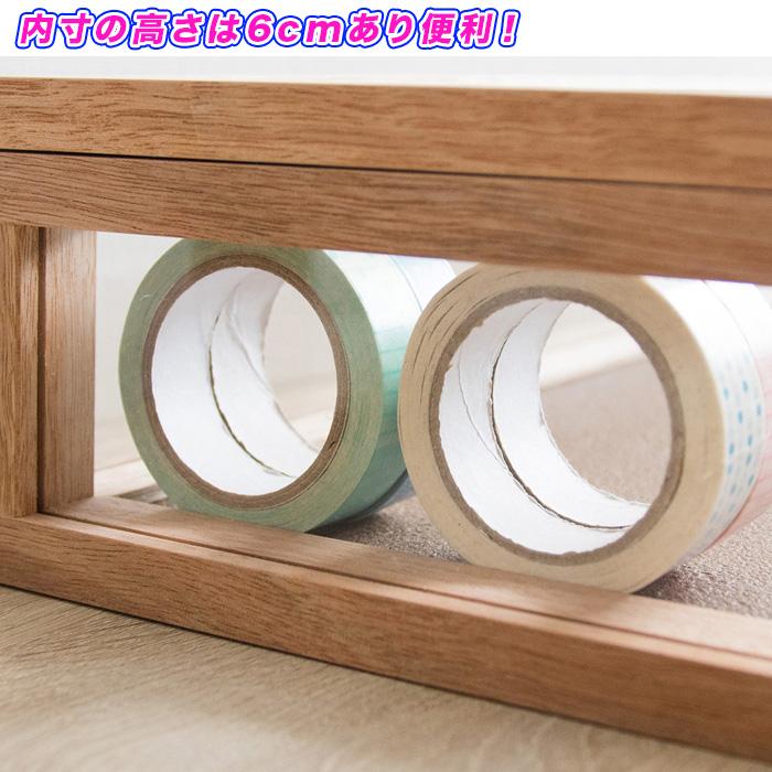 コレクションケース 収納ケース アクリルケース 幅45cm 奥行25cm - エイムキューブ画像5