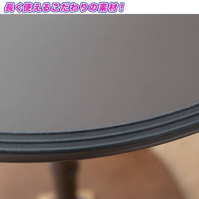 バーテーブル ラウンドテーブル ハイテーブル 丸テーブル 直径60cm - エイムキューブ画像5
