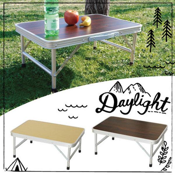 折りたたみテーブル 幅60cm アウトドアテーブル 簡易テーブル バーベキュー 海水浴 キャンプ レジャー - エイムキューブ画像1