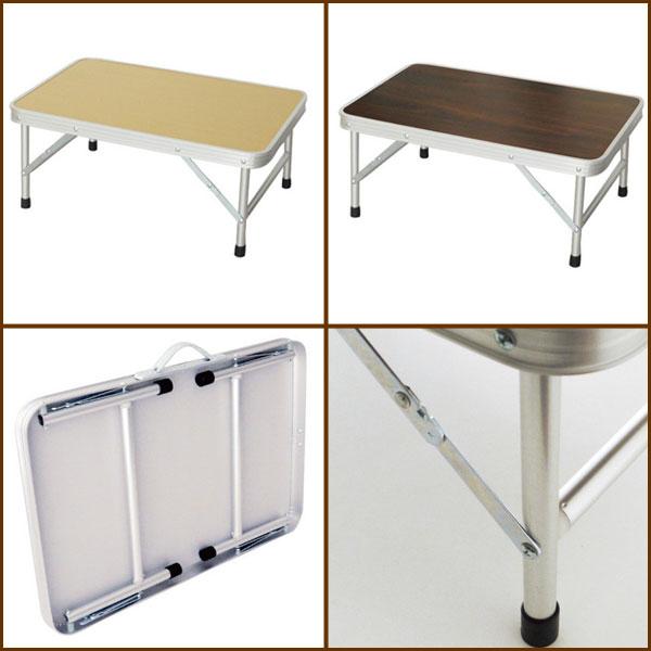 レジャーテーブル ピクニックテーブル ロータイプ 折りたたみ式テーブル - aimcube画像2