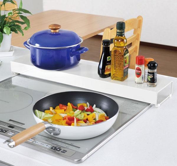 キッチンツールスタンド 調味料 鍋置き台 ステンレス製 耐荷重15kg キッチン 収納 ラック - aimcube画像2