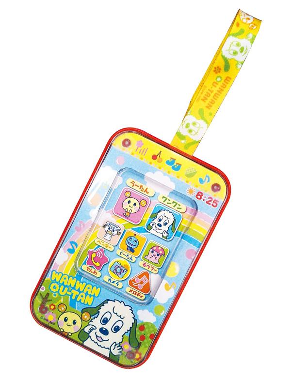 ワンワン うーたん ベビータッチフォン 子供用 スマホ型 おもちゃ メロディが鳴る 1.5歳以上 - エイムキューブ画像3